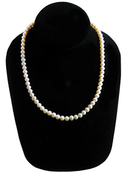 5-6mm Cultured Freshwater Pearl Necklace - Classic Starter Piece