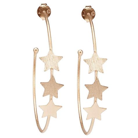 Silvina Hoop Star Earrings│HandPicked