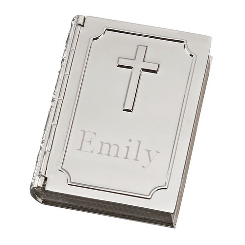 Personalized Bible Shaped Box