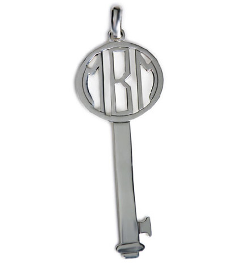 "Personalized 2.5"" Key Pendant"