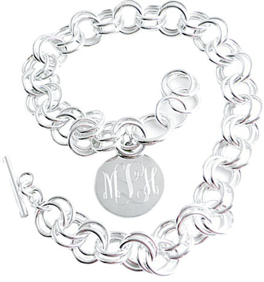 Monogram Necklace - Exclusive HP Sterling Silver Design