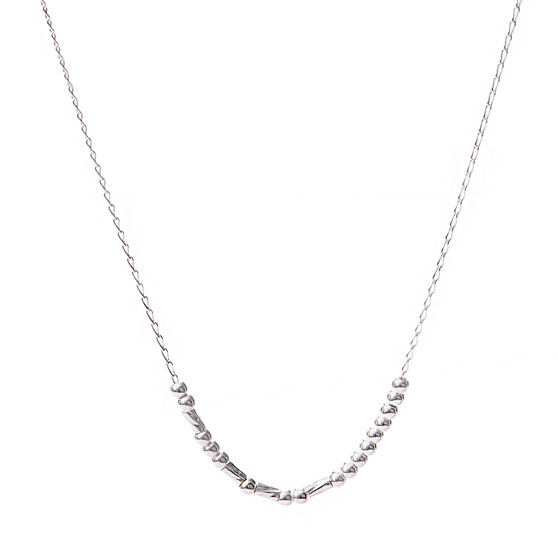 """""""FEARLESS"""" Morse Code Necklace"""