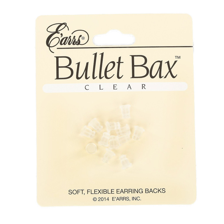 Soft, Flexible Earring Back Replacements - Perfect for Earring Metal Sensitivity