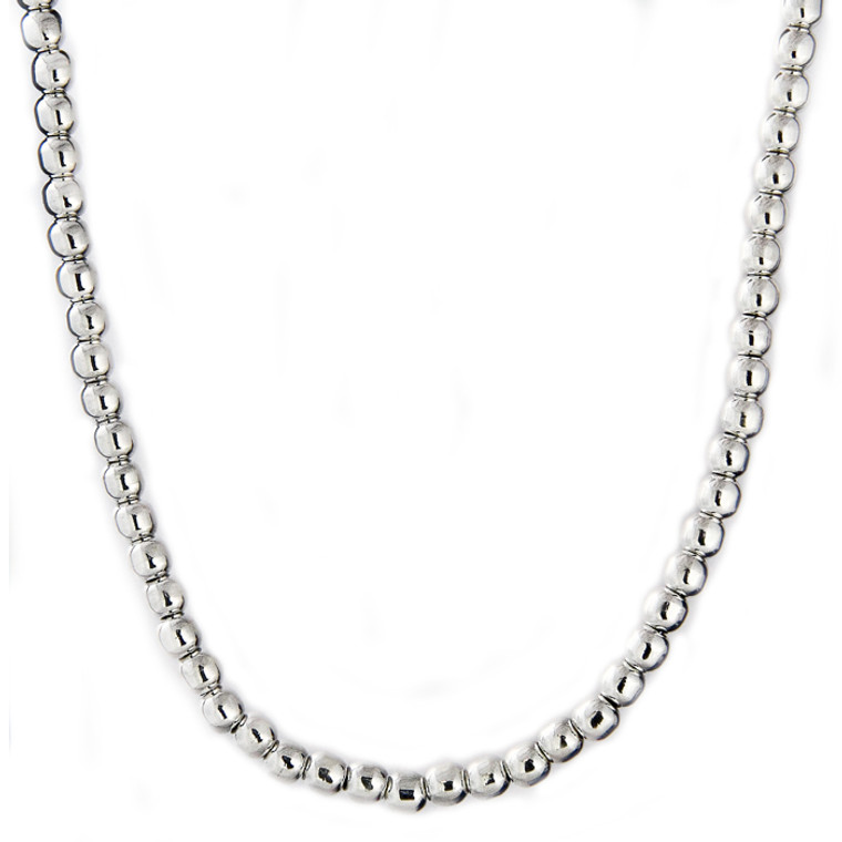 6mm Bold Bead Necklace
