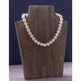 Artisan Crafted Sterling Silver 12mm Bold Bead Necklace