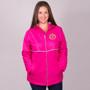 Women's Charles River New Englander Monogram Rain Jacket - Hot Pink