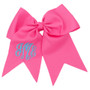 Monogram Cheer and Fashion Bow in Assorted Colors - Hair Bows