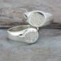 Classic HP Monogram Signet Ring