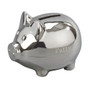 Small Monogrammed Piggy Bank with Polished Finish