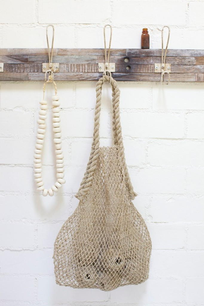 Hemp String Bag - Natural Styled
