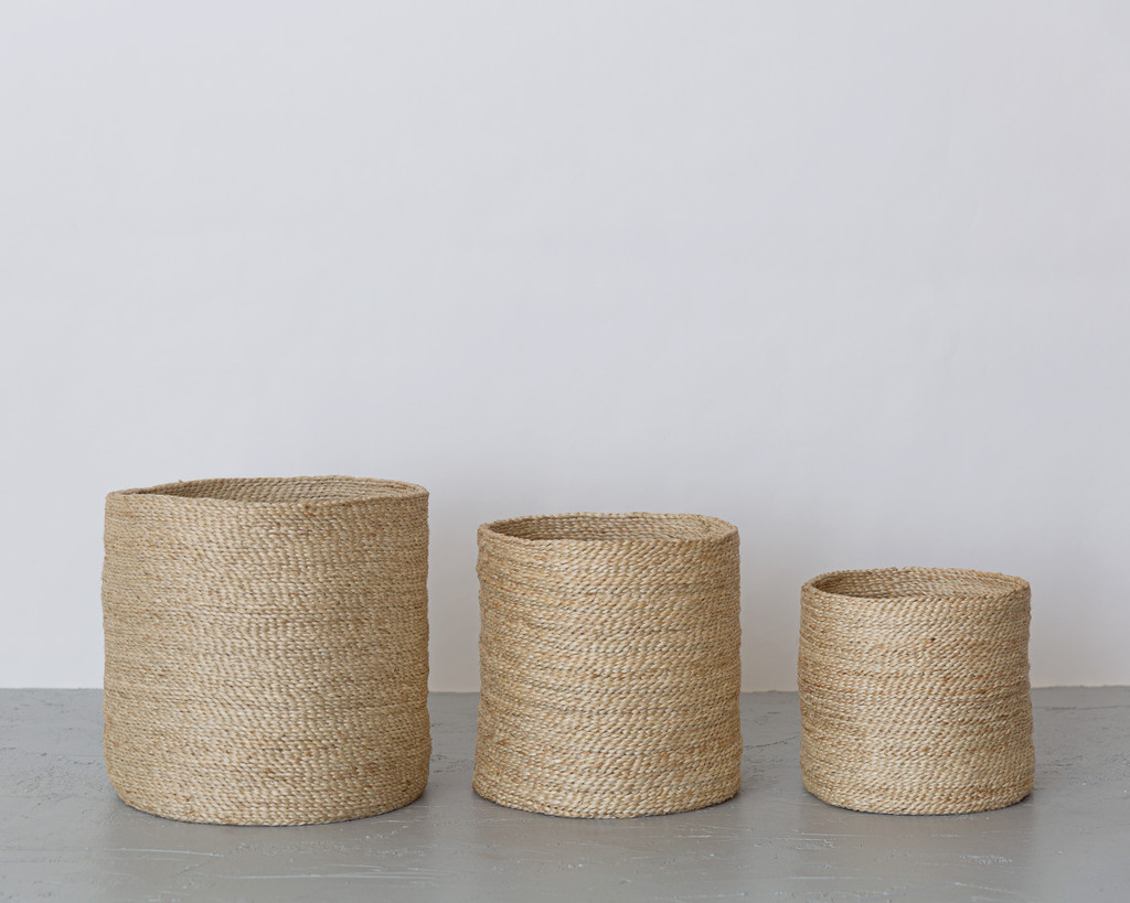 Three Round Baskets 2