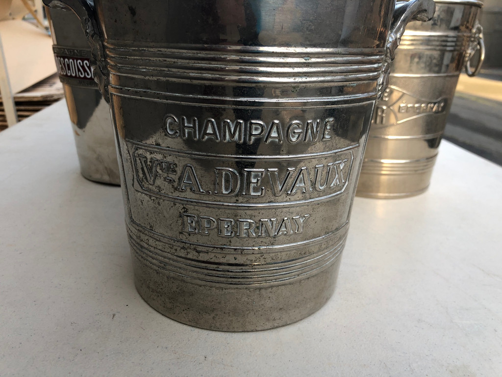 Vintage French Champagne Bucket - A. Devaux