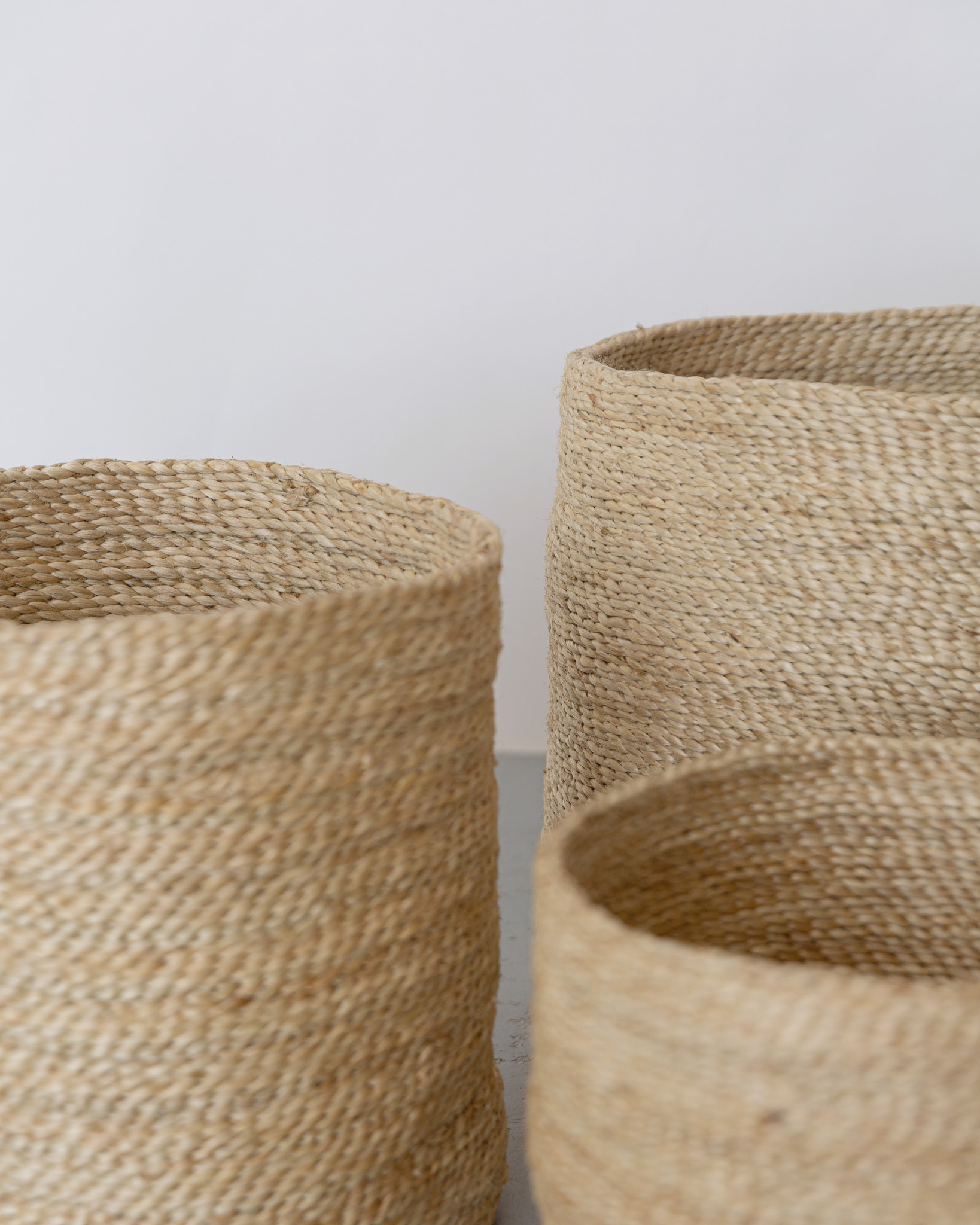 Three Round Baskets 3