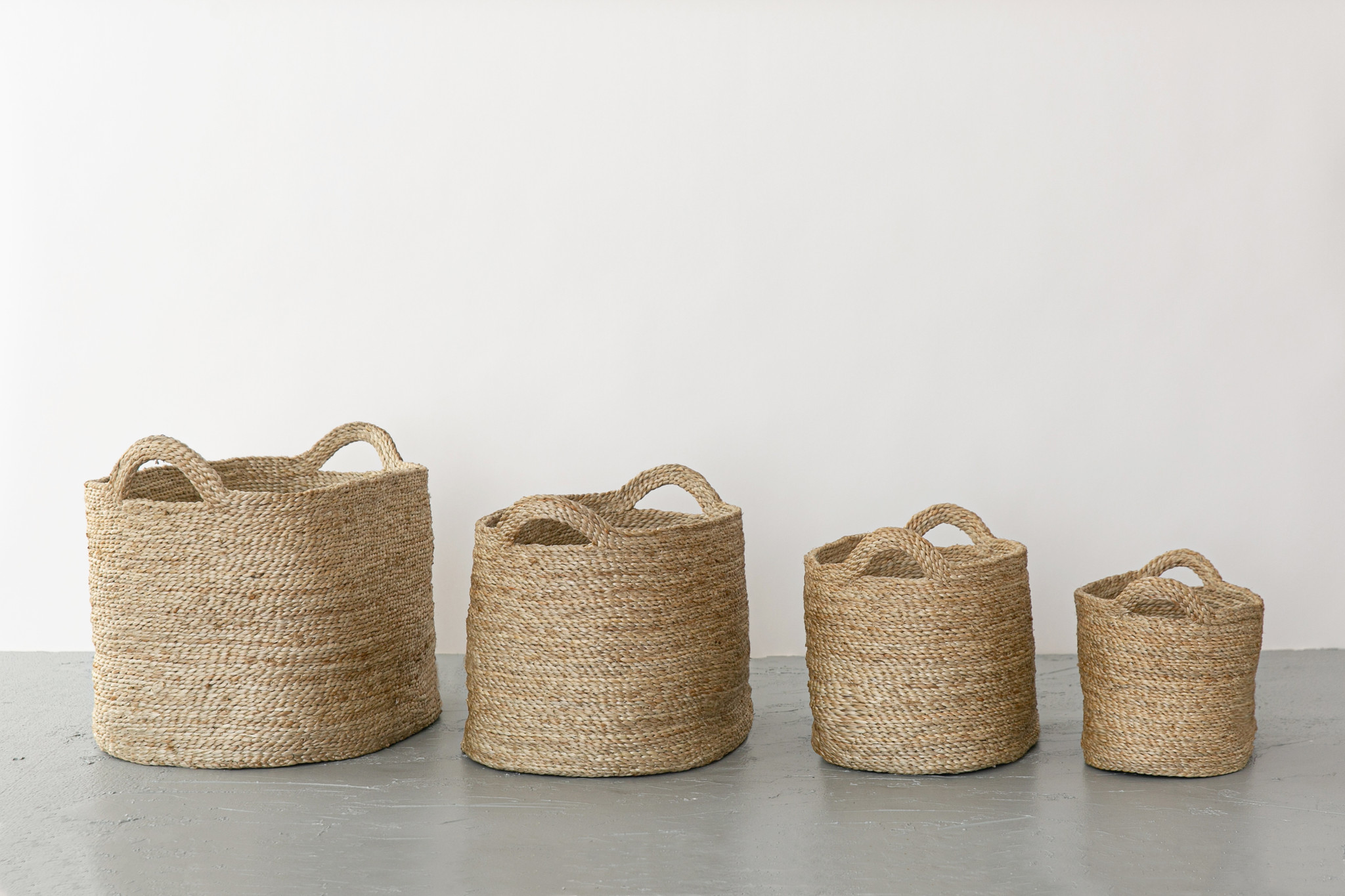 Oval Baskets Natural Set