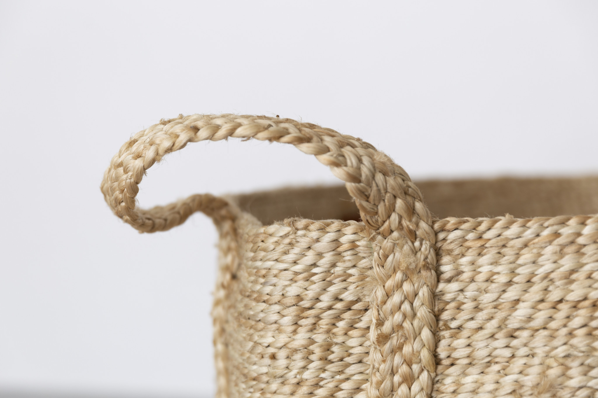 Jute Basket Large Natural XCU