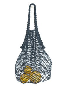 Hemp String Bag - Indigo