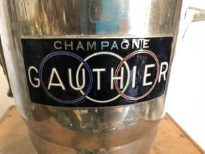 Vintage French Champagne Bucket - Gauthier