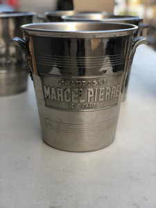 Vintage French Champagne Bucket - Marcel Pierre