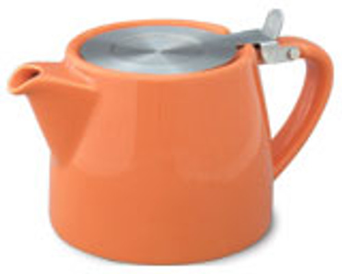 Stump Teapot Orange - 16 oz.