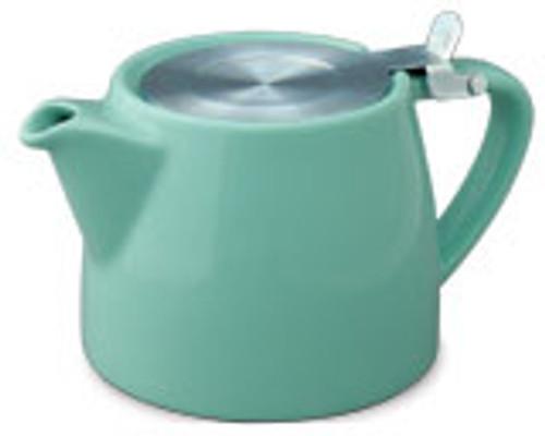 Stump Teapot Aqua - 16 oz.