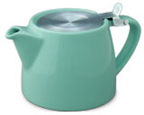 Stump Teapot Aqua - 16 oz.