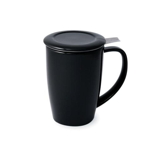 Curve Tall Tea Mug Black - 15 oz.