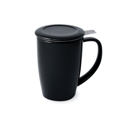 Curve Tall Tea Mug Black - 15 oz.