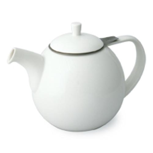 Curve Teapot 24 oz. - White