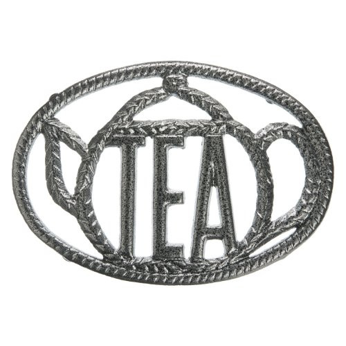 """Tea"" Cast Iron Trivet"