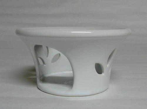Stövchen/Ceramic Teapot Warmer - White
