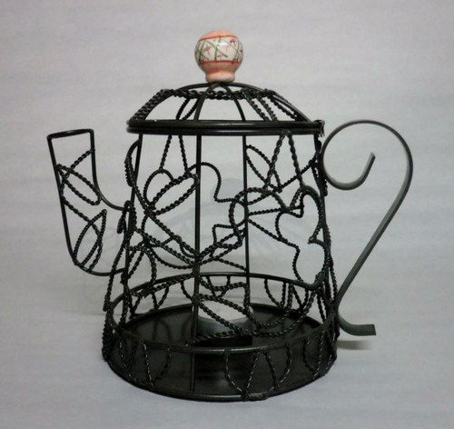 Wired Teapot - Tea Light Holder