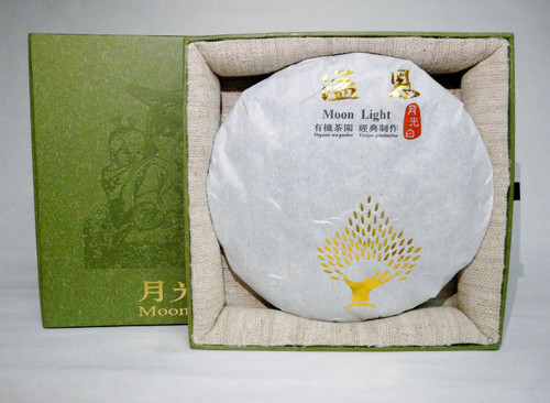 Organic Moon Light Pu-erh Cake