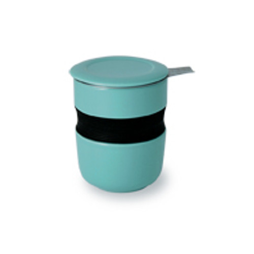 Curve Asian Style Tea Cup - Turquoise (original price $20)