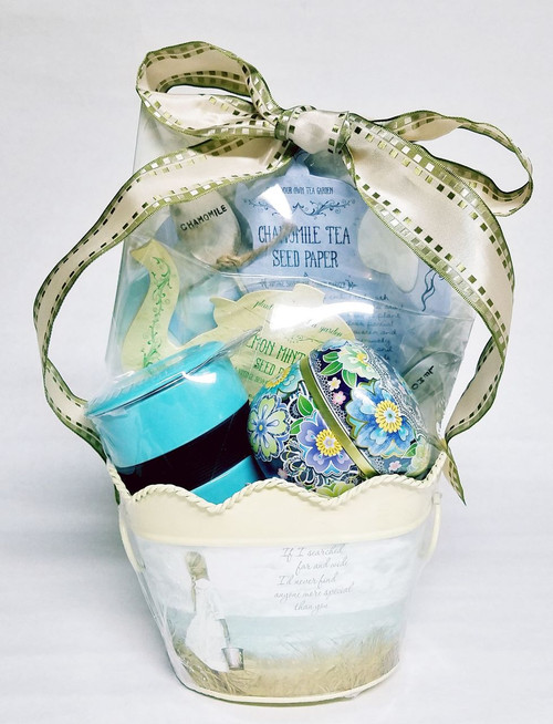 Tea Garden Gift Basket