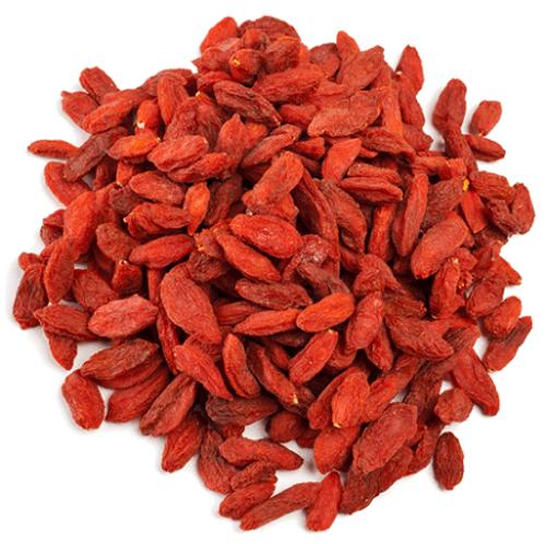 Organic Dried Goji Berries (Lycium Chinensis)