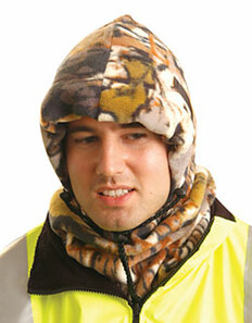 Occunomix #1070-Camo Safety Helmet 3 in 1 Liner - Camo
