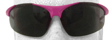 ERB #18619 Ella Pink Safety Eyewear w/ Smoke Lens