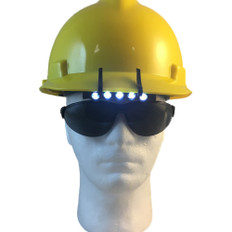 MasterVision #1001 5 LED Safety Helmet Clip on Lights