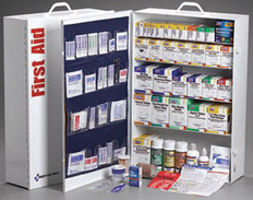 5-Shelf, 1720-Piece Industrial First Aid Station (With Liner)