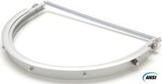Pyramex #HHAAW Safety Helmet Aluminum Full Brim Universal Adapter