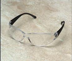 ERB #15281 Boas Safety Eyewear Smoke Frame w/ Clear Lens