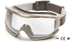 Pyramex #G604T2 Capstone Safety Eyewear Goggles w/ Clear Lens
