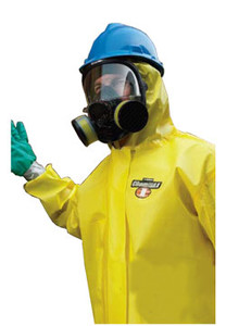Chemmax 1 Coveralls with Hood, Boots and Elastic Wrists (25 per case)