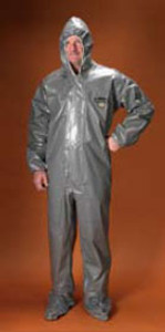 Chemmax 3 Coverall with Hood, Boots and Elastic Wrists (6 per case)