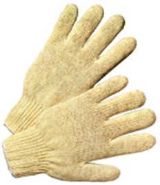 Cotton Polyester String Knit Gloves (SOLD BY THE PAIR)