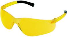 MCR Crews #BK114 Bearkat Safety Eyewear w/ Amber Lens