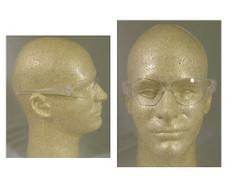 MCR Crews #CL110AF Checklite Safety Eyewear w/ Fog Free Clear Lens