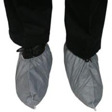Dupont Tyvek Skid Resistant FC Shoe Covers (Gray) (10 PAIR SAMPLE PACK)