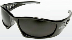 Edge #SB116 Baretti Safety Eyewear w/ Smoke Lens