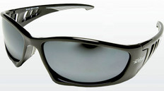 Edge #SB117 Baretti Safety Eyewear w/ Silver Mirror Lens